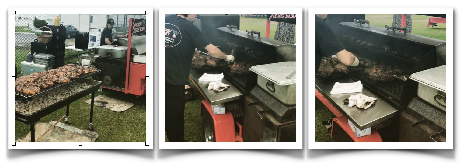 On-Site BBQ Grilling & Smoker for your Super Duper Party!